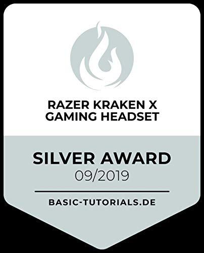 Razer Kraken X - Gaming Headset (Ultra leichte Gaming Headphones für PC, Mac, Xbox One, PS4 und Switch, Kopfband-Polsterung, 7.1 Surround Sound) schwarz