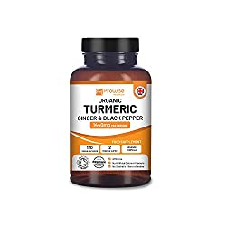 👉 A COMPLETE TURMERIC WITH BLACK PEPPER & GINGER? - Each 1440mg daily serving (2 capsules) of our Turmeric contains: 1340mg of Organic Turmeric (670mg per capsule), 80mg of Ginger (40mg per capsule), and 20mg of Black Pepper (10mg per capsule). Best ...