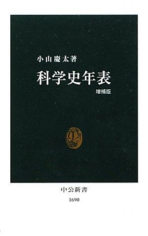 科学史年表 (中公新書)の詳細を見る