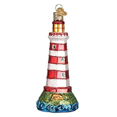 Old World Christmas Collection Glass Blown Ornaments for Christmas Tree Sambro Lighthouse