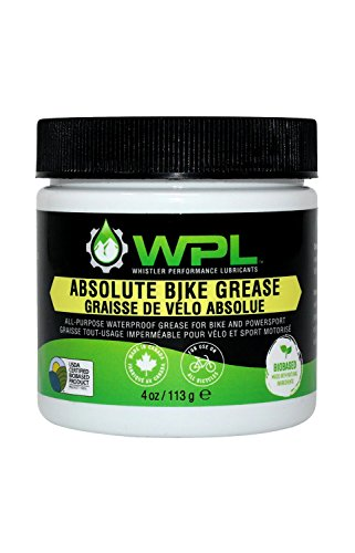 WPL Absolute Bike Grease: All-Purpose Bicycle Grease, Biodegradable Bio-Based and Non-Toxic Formula for Superior Road and Mountain Bike Maintenance