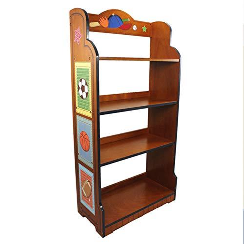 Muebles Estanterías infantiles Estantería infantil de dibujos animados Dormitorio infantil, gabinete de almacenamiento de juguetes para niños Estantería deportiva Estantería infantil Estantería infant