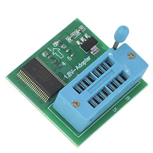 Weikeya Adapter 1,8 V, grüne Umwandlung 1,8 V, Flash-Speicher Winbond Electronics 4 x 3,8 x 1,3 cm aus Kunststoff für Transport und Verwendung.