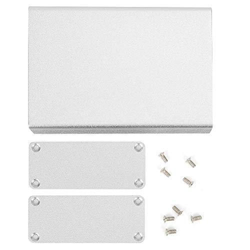 Aluminium-Projektbox - Aluminium-Projektbox Mattes Silbergehäuse DIY Elektronisches Produkt Wärmeableitungsgehäuse 27x66x100mm