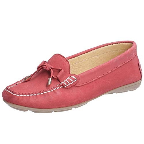 Hush Puppies Maggie Slip On Mokassins (38 EU) (Rot)