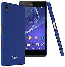 غطاء خلفي متين من نوع (ايماك) (كاوبوي سيريز), متوفرة لهواتف (سوني اكسبيريا زد 5 بريميوم/زد 5 بلس) باللون ازرق
