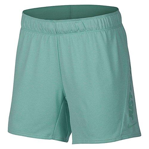 NIKE Sudadera con Capucha para Mujer, Mujer, Pantalones Cortos de Entrenamiento, 944262-357, Emerald Rise/Heather/Light Menta, Large