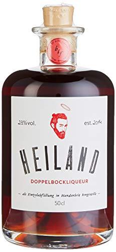 HEILAND Doppelbock-Rum-Liqueur mit echter Bourbon Vanille (Bierlikör) (1 x 0.5 l)