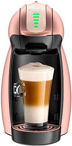 YQGOO Roségold Pinguin Kapsel Kaffeemaschine Roségold Farbe Automatische Kaffeemaschine mit Timer Milchschaum Kaffeemaschine Kapsel Kaffeemaschine