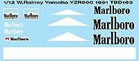 デカール 1/12 WAYNE RAINEY YAMAHA YZR500 1991 DECALS TB DECAL TBD163