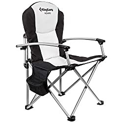 KingCamp Heavy Duty Camping Folding Padded Director Chair