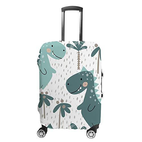 Funda para maleta CHEHONG con diseño de dinosaurio para bebé, funda protectora de fibra de poliéster lavable a prueba de polvo elástica para 18 – 32 pulgadas