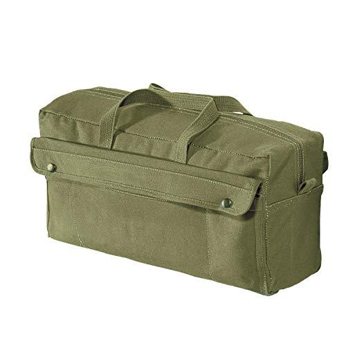 Rothco Canvas Jumbo Mechanic Tool Bag, Olive Drab