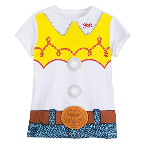 Disney Jessie Costume T-Shirt for Girls - Toy Story Size L (10/12) Multi