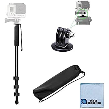 HERO4 Session Cameras HERO3//3+ HERO2 HERO4 60 Inch Pro Series Professional Camera Tripod for All GoPro HERO1 DLSR Digital Cameras and Camcorders
