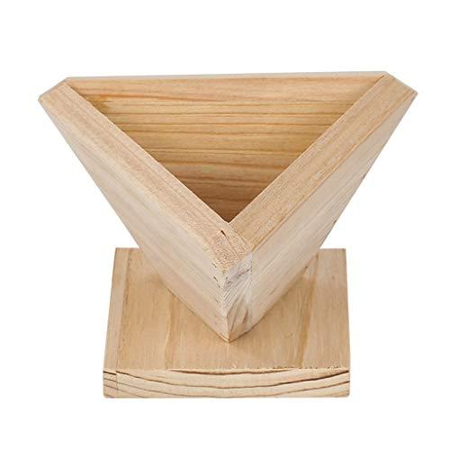 TIREOW DIY Holz Traditioneller Chinesischer Reispudding Hersteller Backformen Automatisches Formen Zongzi Klebrige Reisknödelform (S)