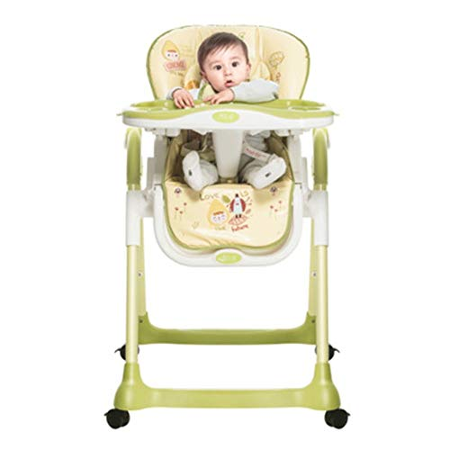 Why Choose Space Saver Highchairs A Good Assistant To Take Care Of Children Convertible Folding Baby...
