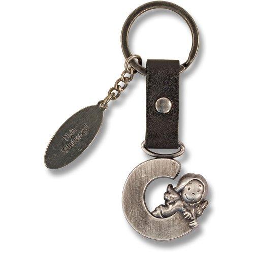 Schutzengel Schlüsselanhänger Buchstabe C
