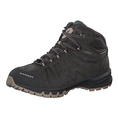 Mammut Mercury III Mid GtxÂ, Zapatos de High Rise Senderismo Hombre, Gris (Graphite-Taupe 0379), 44 2/3 EU