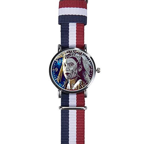 LHM Indianer Indianer Uhr Damen Armband Uhren Analog Uhr mit Textilband