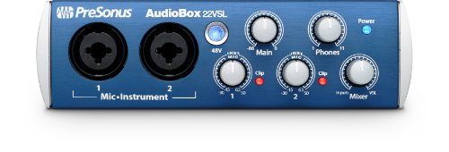Presonus AudioBox 22VSL 24-Bit/96 kHz 2x2 USB 2.0 Audio Interface