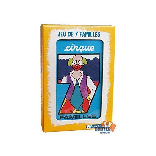 Jeu de 42 cartes : 7 Familles \