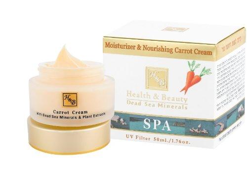 Health & Beauty ► Totes Meer feuchtigkeitsspendende und nährende Karotten Gesichtscreme SPF-20