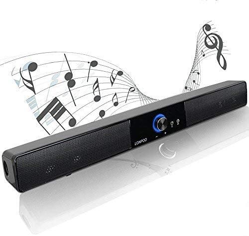 LONPOO 20 Inch 2021new shipping free shipping Computer Laptop Bar Bluetooth Soundb Gaming Sound Tulsa Mall