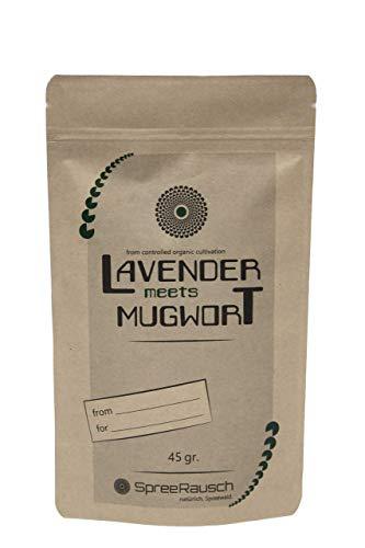 Mezcla de hierbas como el té o para fumar SpreeRausch - Sustituto del tabaco sin nicotina, super regalo