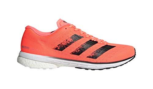 adidas Adizero Adios 5 M Zapatilla de deporte para hombre, Naranja (Coral/Negro/Blanco), 44.5 EU