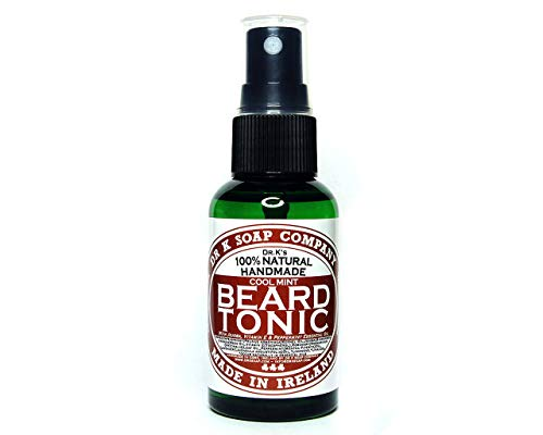 DR K Soap Company Beard Tonic Cool Mint Barber size mit Pumpe 100 ml