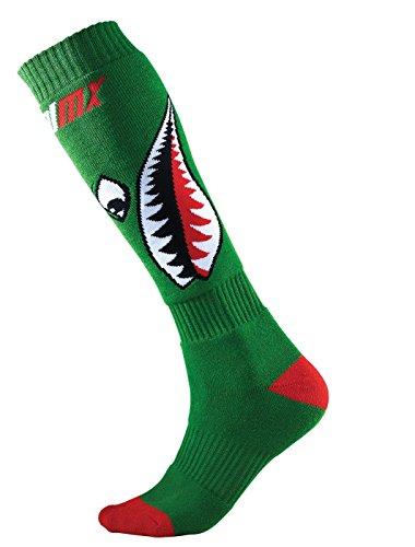 Oneal dames Bomber Pro Mx sokken, groen/rood/wit, één maat