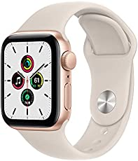 Apple Watch SE (GPS, 40mm) - Gold Aluminium Case with Starlight Sport Band - Regular