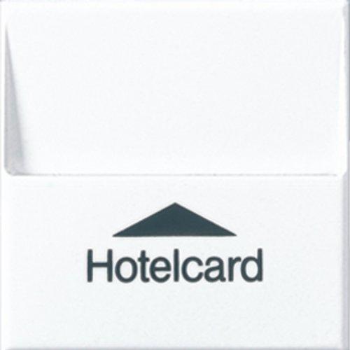 Jung sl500 - Tarjetero hotel para mecanismo pulsador 531u blanco alpino