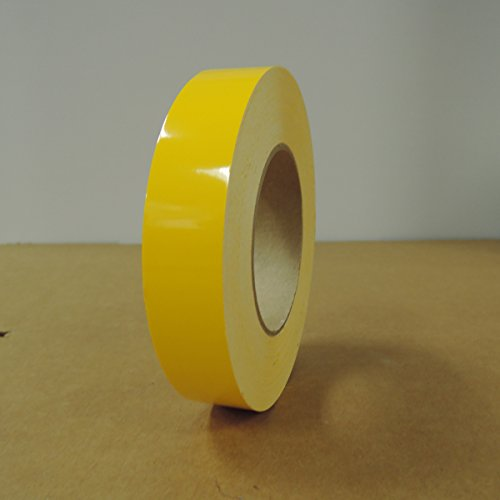 "1"" 3M Vinyl Striping 150' 25 Colors Available (Yellow)"