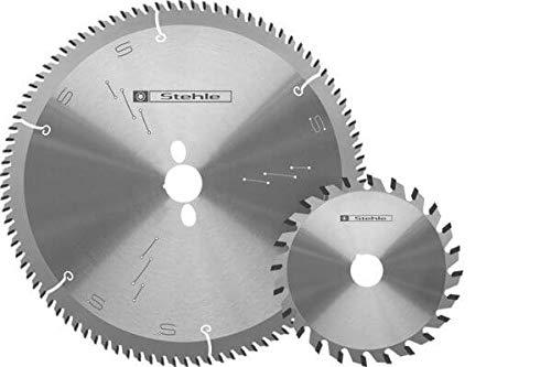 Stående cirkelsågblad set F för Altendorf-maskiner med huvudcirkelsågblad 350 x 30 mm Z = 72 TR-F och spånskiva 180 x 22 mm Z = 36 F