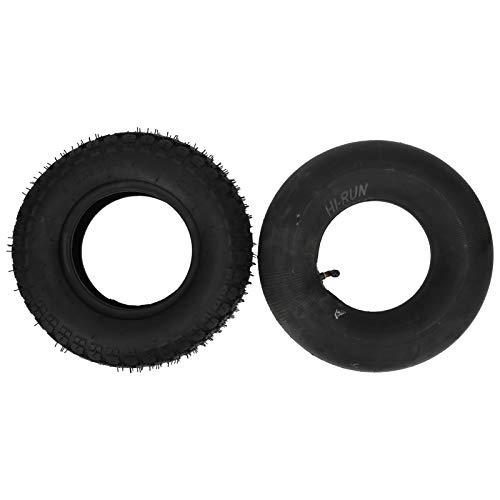 Hoseten Neumático para cortacésped, 4.10/3.50‑6 Caucho para neumáticos para carretillas para cortacésped para carros