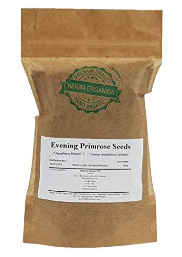 Enagra Comune Semi/Oenothera Biennis L/Evening Primrose Seeds # Herba Organica # Rapunzia, Enotera, Prosciutto di Sant'Antonio, Blattaria (200g)