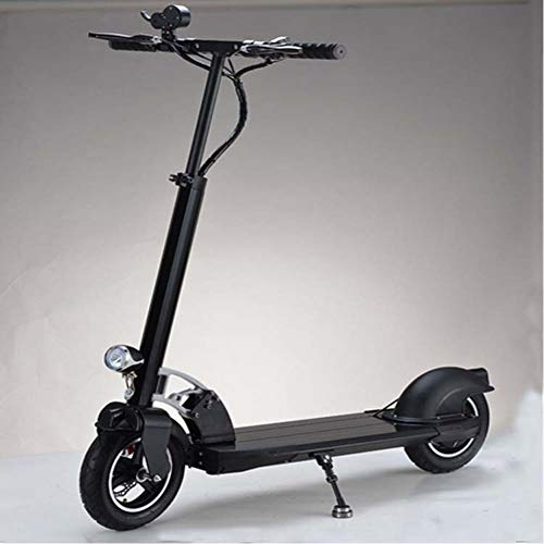 zhangfengjiao Mini patinete eléctrico plegable portátil de dos ruedas con batería de litio de 10 pulgadas, 40 km de autonomía
