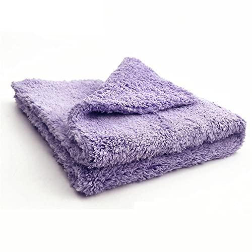 QWSNED Toallas, paño de limpieza de microfibra eficaz, paño de lavado de coches extremadamente absorbente, cuidado de lavado de coches, limpieza y secado de coches