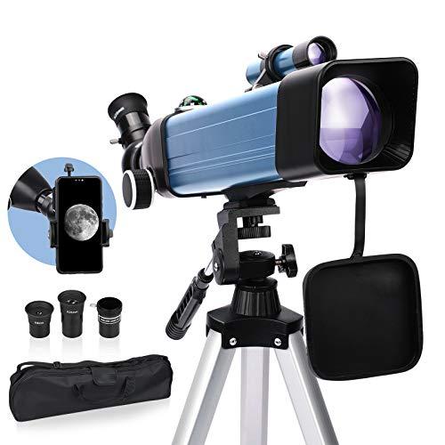 telescopio orion de la marca USCAMEL
