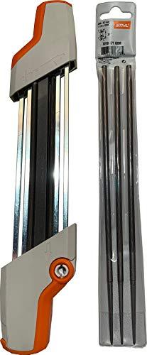 Stihl 5605-750-4305 kettingzaag slijper en 7010-871-0398 Pack van 3 vervangende bestanden Kit