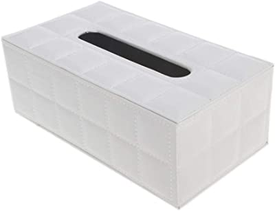 NUOMIZAI Caja de pañuelos-Caja de Almacenamiento Rectangular de 2 ...