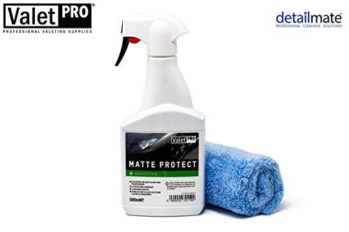 ValetPRO Kit de Protection Mat et Chiffon en Microfibre 40 x 40 cm