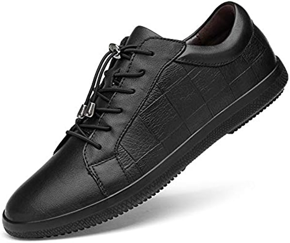 LOVDRAM Chaussures Hommes New Top Layer Leather Chaussures Hommes Chaussures Grande Taille
