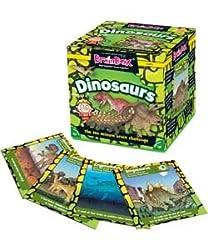 4. Green Board Games Brainbox Dinosaurs Game