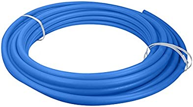 Supply Giant APB12100 Pex A Tubing for Potable Water Non-Barrier Pipe, 1/2 In, Blue, 100 Feet
