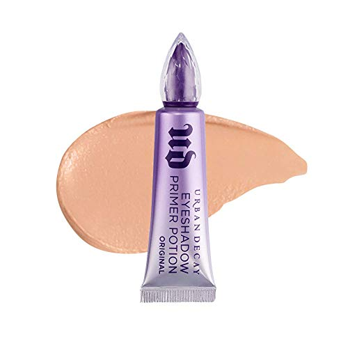 Urban Decay Eyeshadow Primer Potion, Original - Award-Winning Nude Eye Primer for Crease-Free Eyeshadow & Makeup Looks - Lasts All Day - 0.33 fl oz