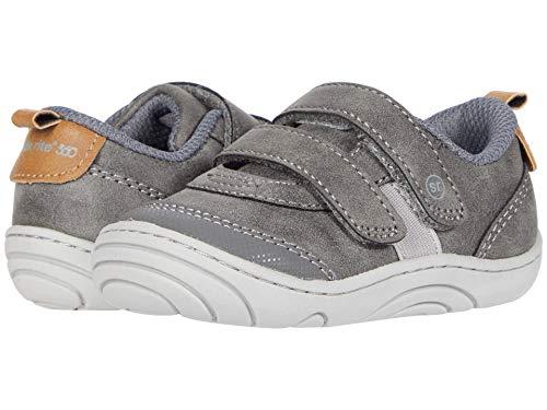 Stride Rite 360 Boy's Wilbur Sneaker, Grey, 6 Little Kid