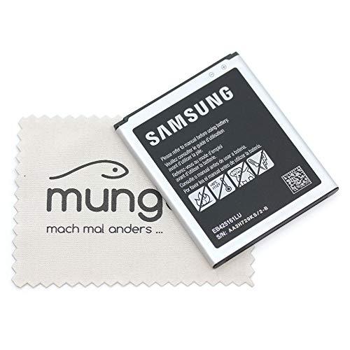 Batería para Samsung Original para Samsung S7560, S7562, S7580, S7582, i8160 EB425161LUCSTD con mungoo pantalla paño de limpieza